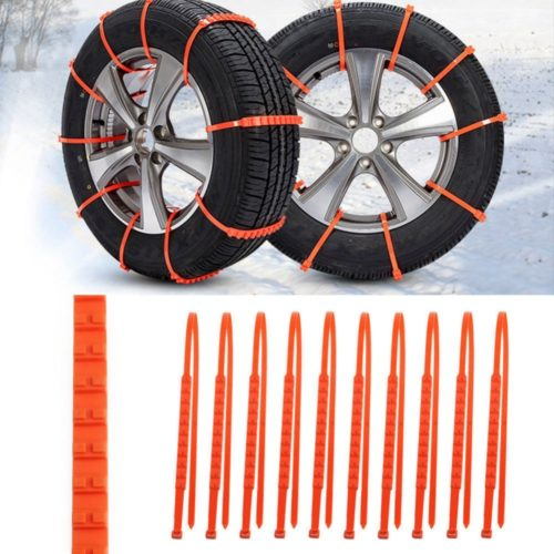 Snow Tire Chains 10PC Set