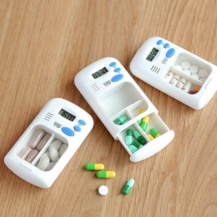 Travel Pill Case Electronic Organizer