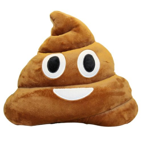 Poop Emoji Pillow Cute Soft Cushion