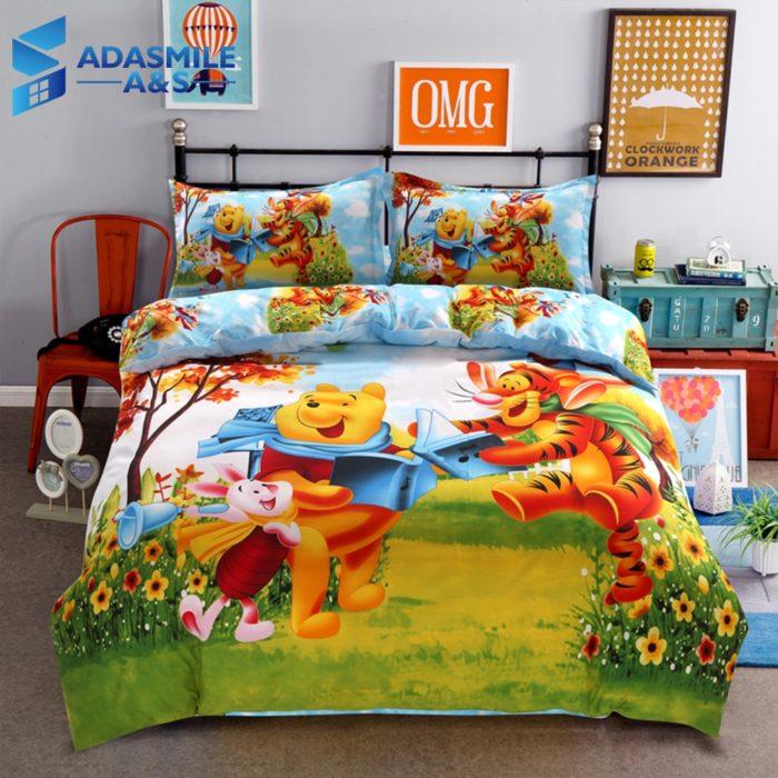 Kids Bedding Pooh Bear Design (1 set)