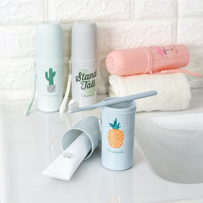 Toothbrush Case Travel Container