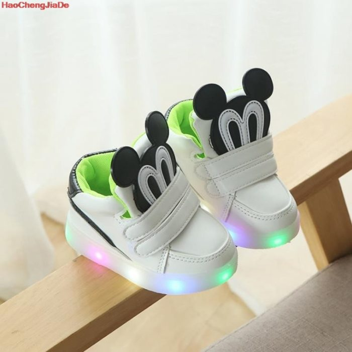 LED Shoes For Kids Glowing Sneaker