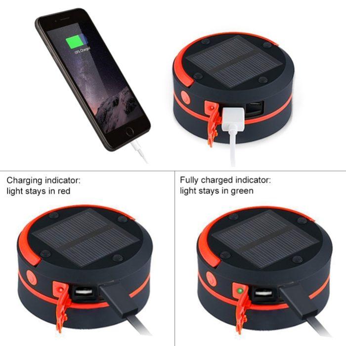 Solar Camping Lights Portable Lamp