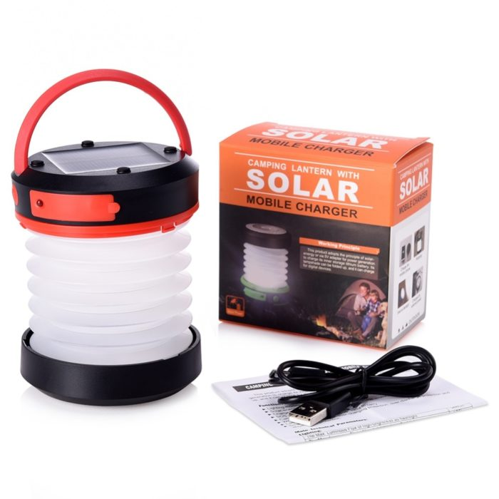 Solar Camping Lights Portable Lamp