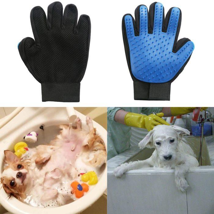 Dog Hair Remover Shedding Gloves