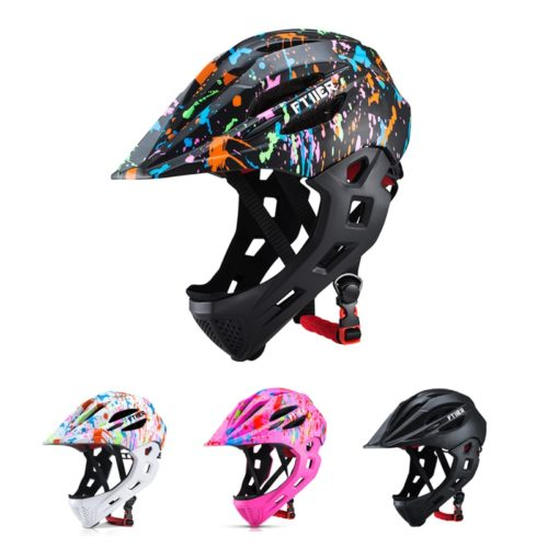Kids Full Face Helmet Bike Safety