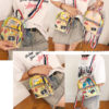 Transparent Backpack Girls Fashion Bag