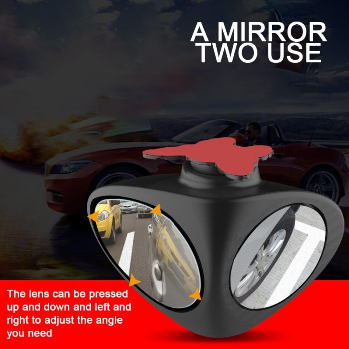Car Blind Spot Mirror Rotatable Accessory