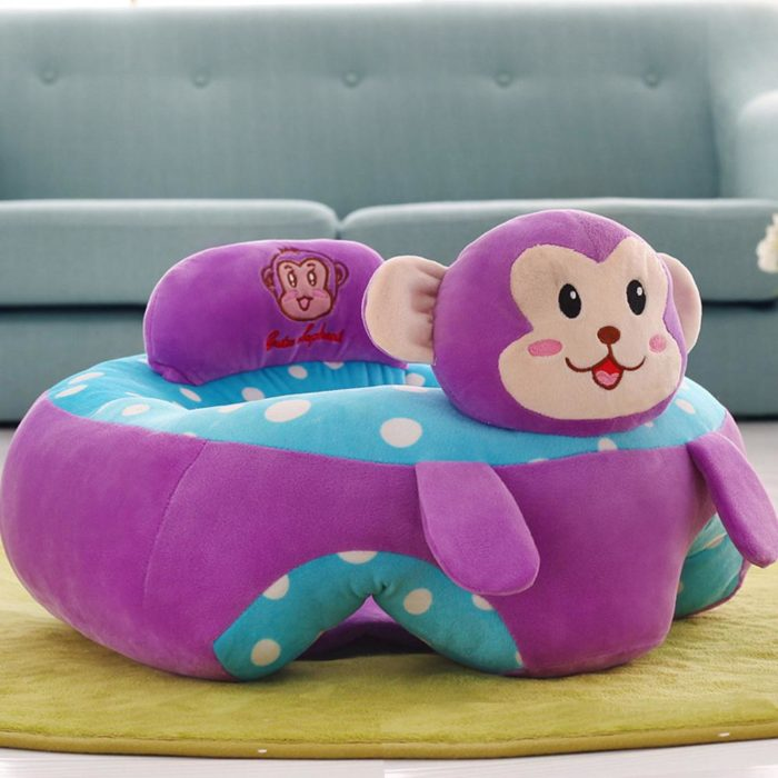 Baby Sofa Animal Plush Design