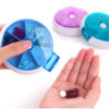Weekly Pill Organizer Rotating Holder