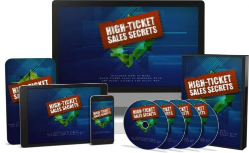 High Ticket Sales Secrets: Online Sales Success - Ebook