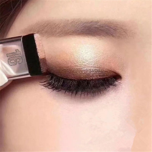 Glitter Eyeshadow Palette Two-Tone Makeup
