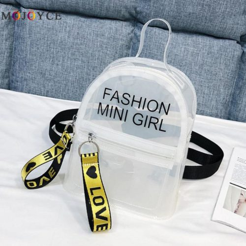 Clear Mini Backpack Girls Bag