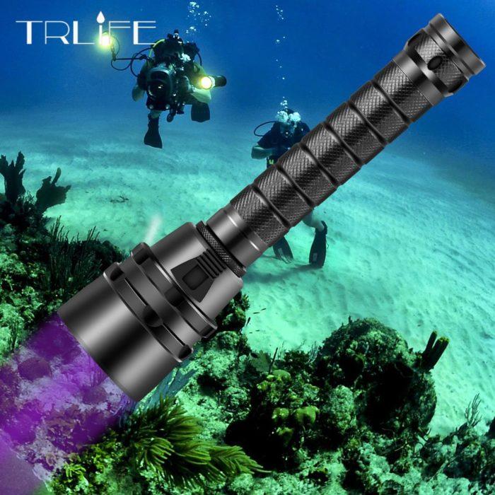 Dive Torch Underwater Flashlight