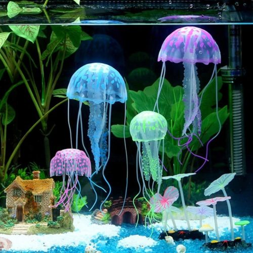Jellyfish Ornament Fish Tank Decor