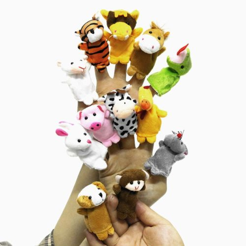 Finger Puppets 12PC Set Plush Toy