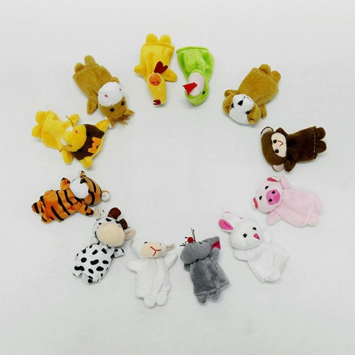 Finger Puppets 12PC Set Plush Toy