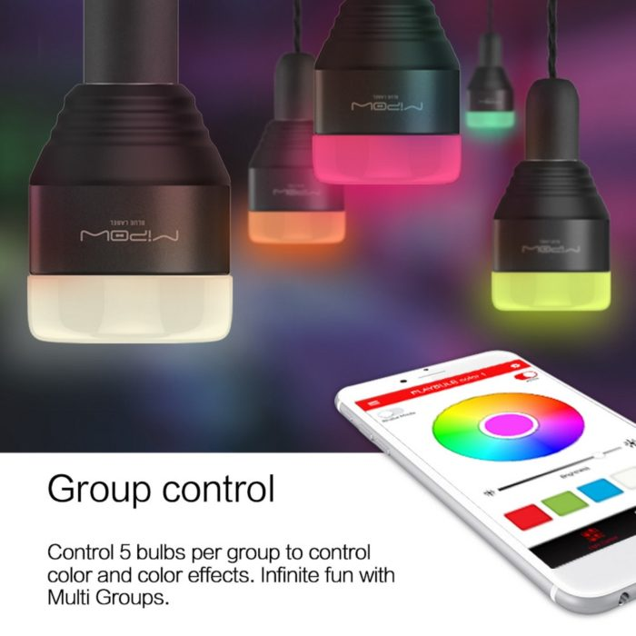 Color Changing LED Bulb Dimmable Light
