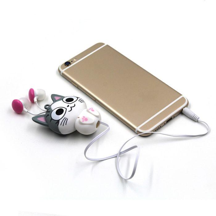 In Ear Earphone Retractable Earphone
