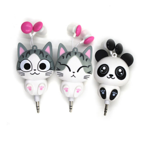 In Ear Earphone Retractable Earphone