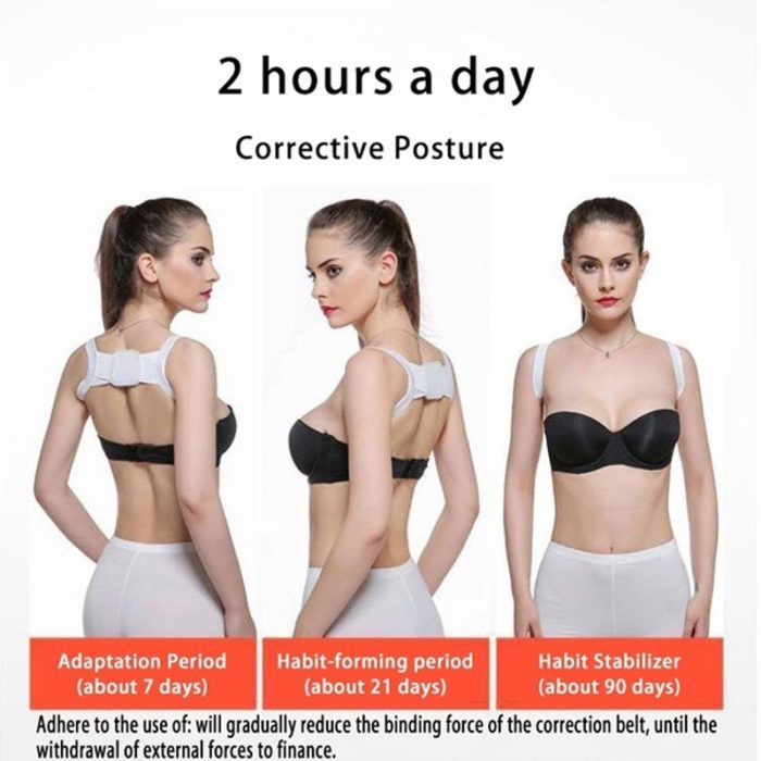 Back Brace Posture Corrector Support Belt