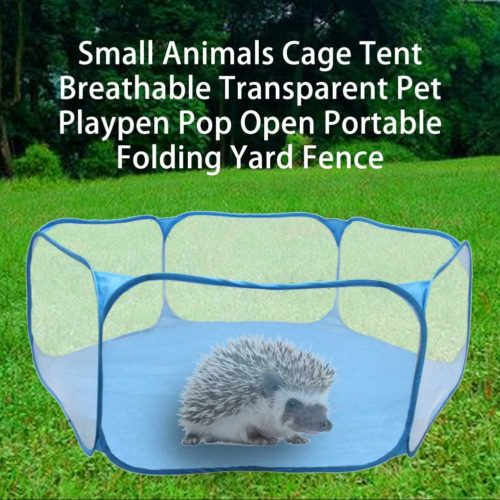 Pet Playpen Foldable Mesh Fence