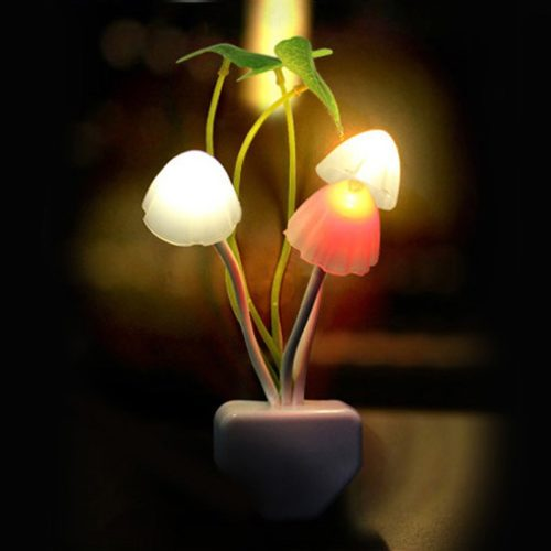 Mushroom Lamp Plug-In Night Light
