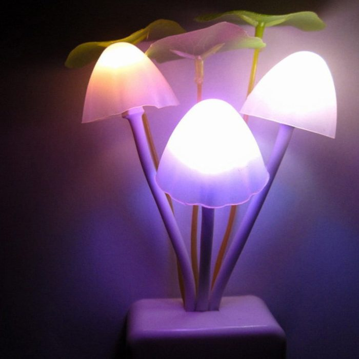 Mushroom Lamp Plug-In Night Light