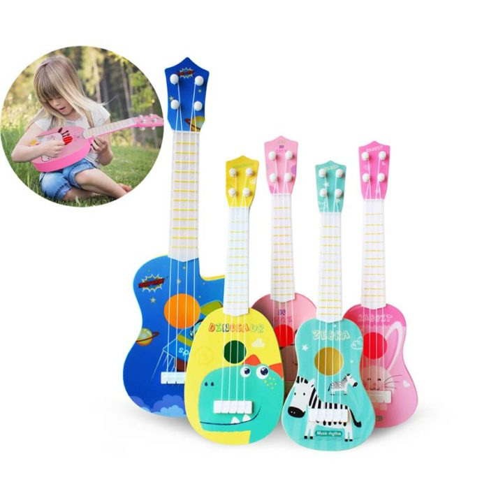 Kids Ukulele Cute Musical Instrument
