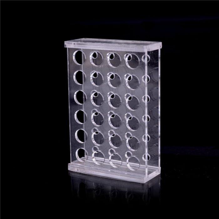 Test Tube Rack 24-Hole Holder