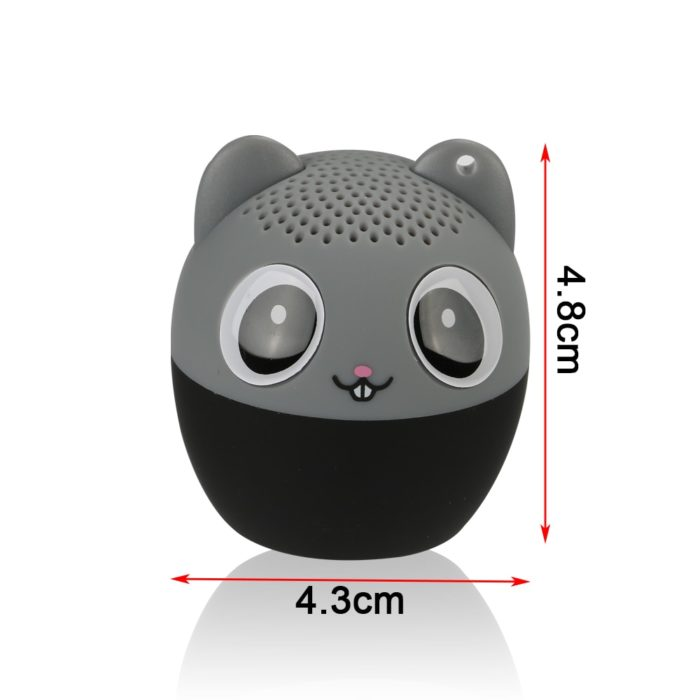 Mini Portable Speaker Animal Music Player