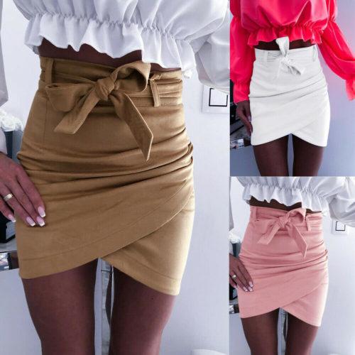 Short Pencil Skirt Fashion Wear