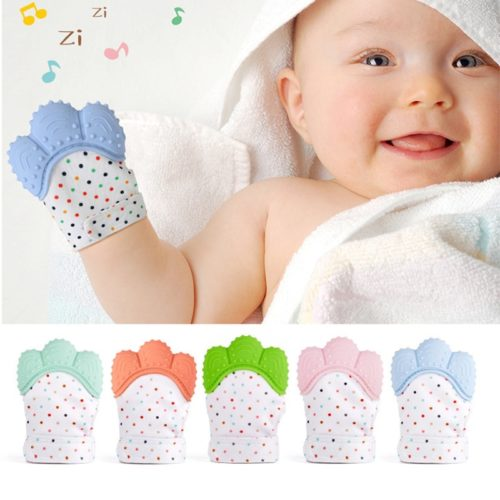 Teething Glove Infant Teether Mitten