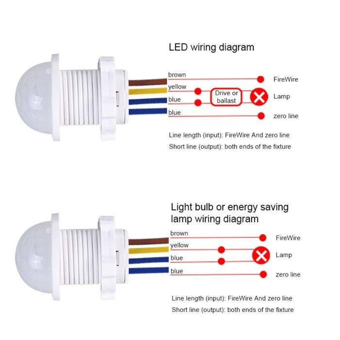 Motion Sensor Light Switch Detector