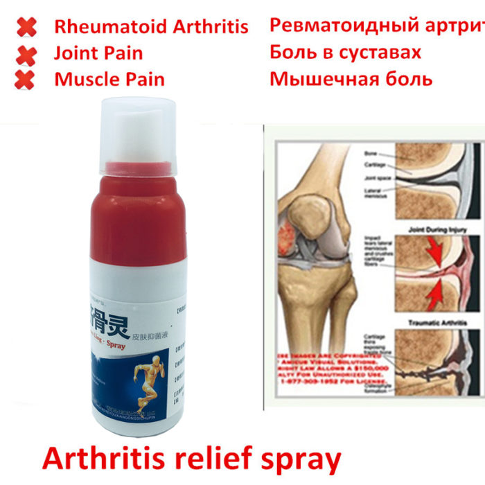 Pain Relief Spray Body Pain Reliever