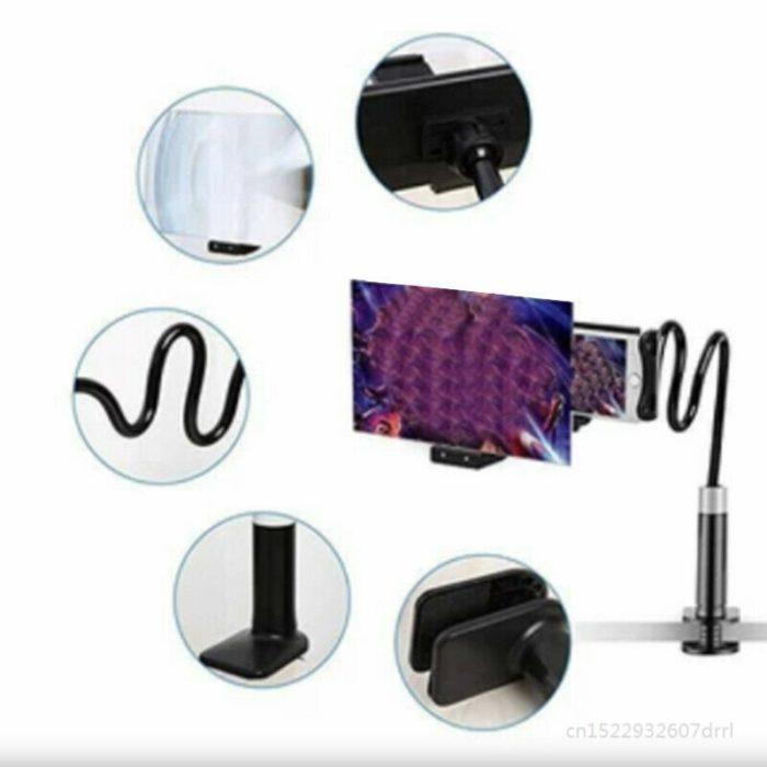 Phone Magnifier Adjustable Cellphone Holder