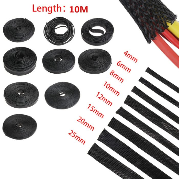 Cable Sleeve Expandable Wire Protection