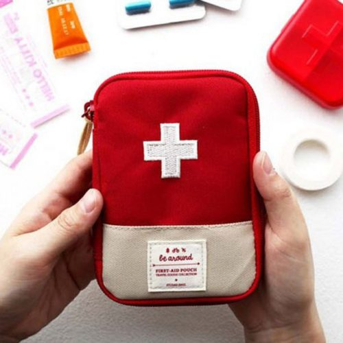Emergency Bag Portable First Aid Pouch