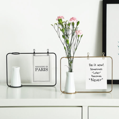 Photo Display Vase Picture Frame Set