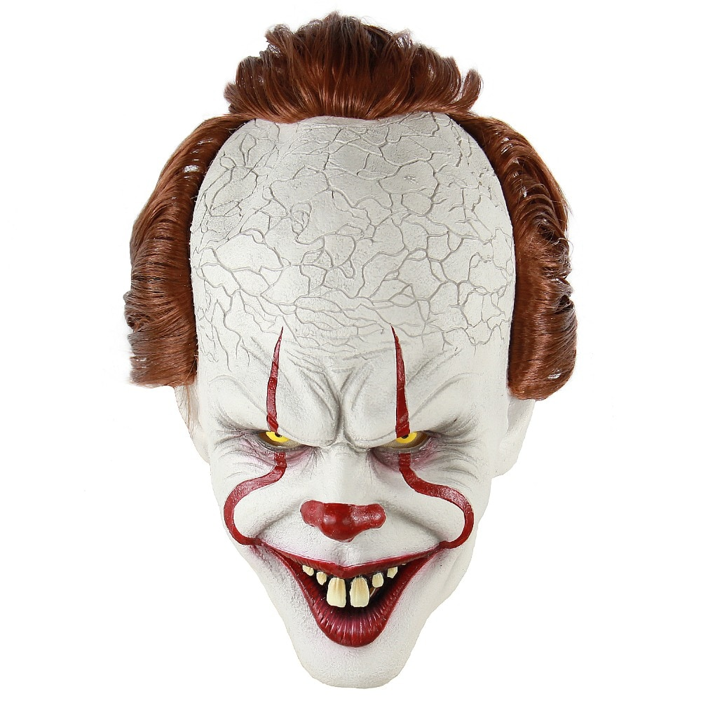 Killer Clown Mask Scary Props