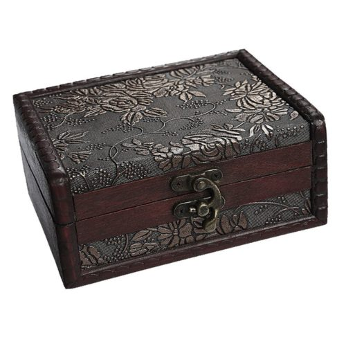 Antique Jewelry Box Vintage Organizer