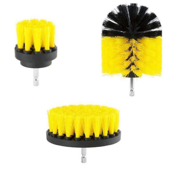 Drill Scrub Brush Cleaning Brushes