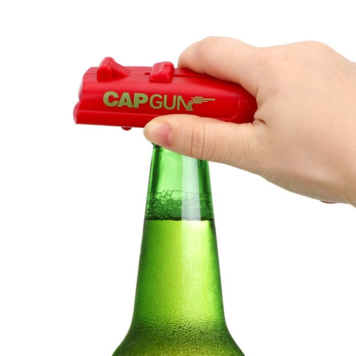 Beer Bottle Opener Flying Cap Launcher