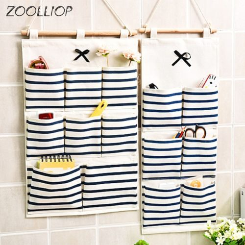 Hanging Wall Organizer Storage Pockets