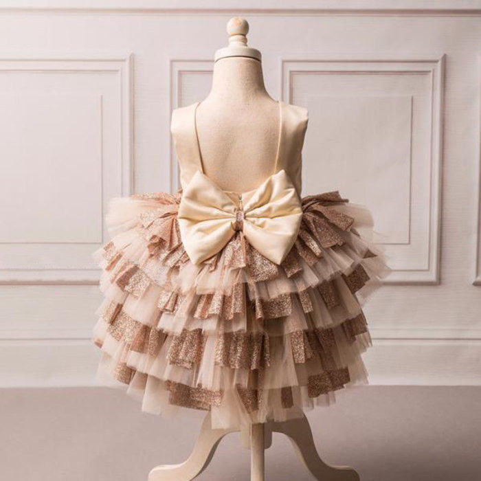 Girls Tutu Dress Formal Wear