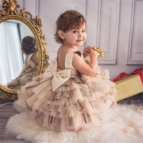Girls Tutu Dress Formal Wear