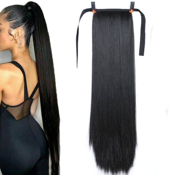 Ponytail Hair Extensions Synthetic Hair