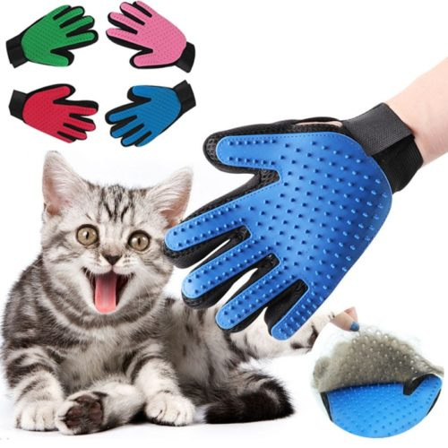 Cat Grooming Glove Massage Brush