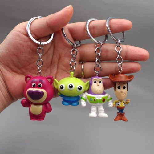 Cute Keyrings Cartoon Key Holder