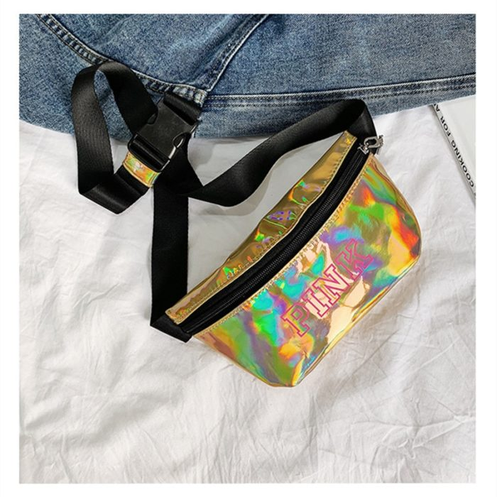 Small Fanny Pack Holographic Waist Bag